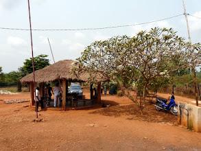 Photo: La paillote à la maternité de Dré