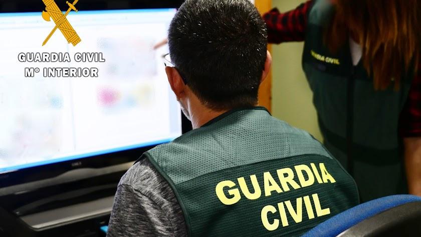 Operación llevaba a cabo por la Guardia Civil.