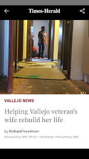 Vallejo Times Herald- screenshot thumbnail