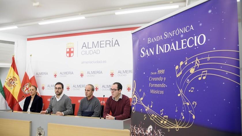 Presentación de los conciertos de este fin de semana de la AM San Indalecio.