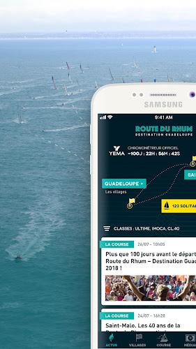 Route du Rhum Android App Screenshot