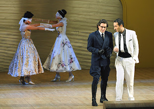 Photo: LA CENERENTOLA an der Wiener Staatsoper. Premiere 26.1.2013. Inszenierung: Sven Eric Bechtolf. Dmitry Korchak, Vito Priante. Foto: Barbara Zeininger