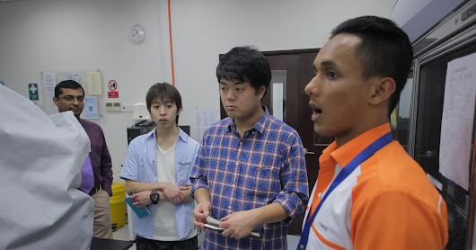 Lab Visit from Tokyo University of Agriculture