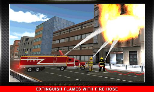 911 Rescue Fire Truck 3D Sim  screenshots 2