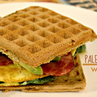 Paleo Bacon & Egg Wafflewich
