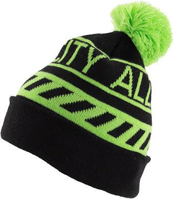 All-City Sleddin' Hat: Black/Lime Green alternate image 3