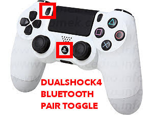 PlayStation 4 Wireless Controller bluetooth pairing mode