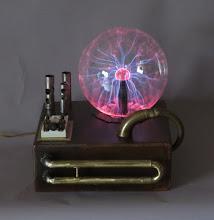 Photo: steampunk plasma lamp