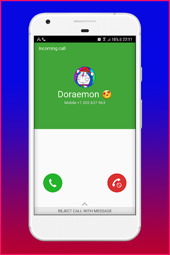 Download Fake Call From Doreamon Google Play softwares