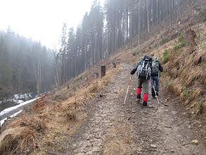 Photo: 02.Podejście żółtym szlakiem na Wielką Raczę.