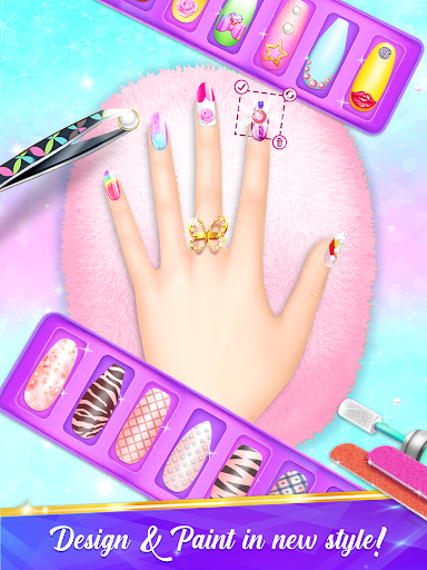 Nail Salon Manicure - Fashion Girl Game screenshots 1
