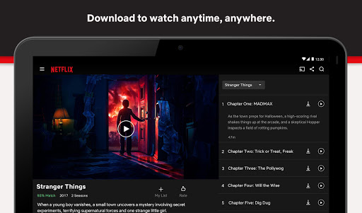 Netflix MOD APK (Premium, Unlocked 4K, All Region)