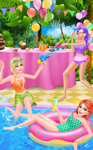 Summer Pool Party Beauty Salon|玩休閒App免費|玩APPs