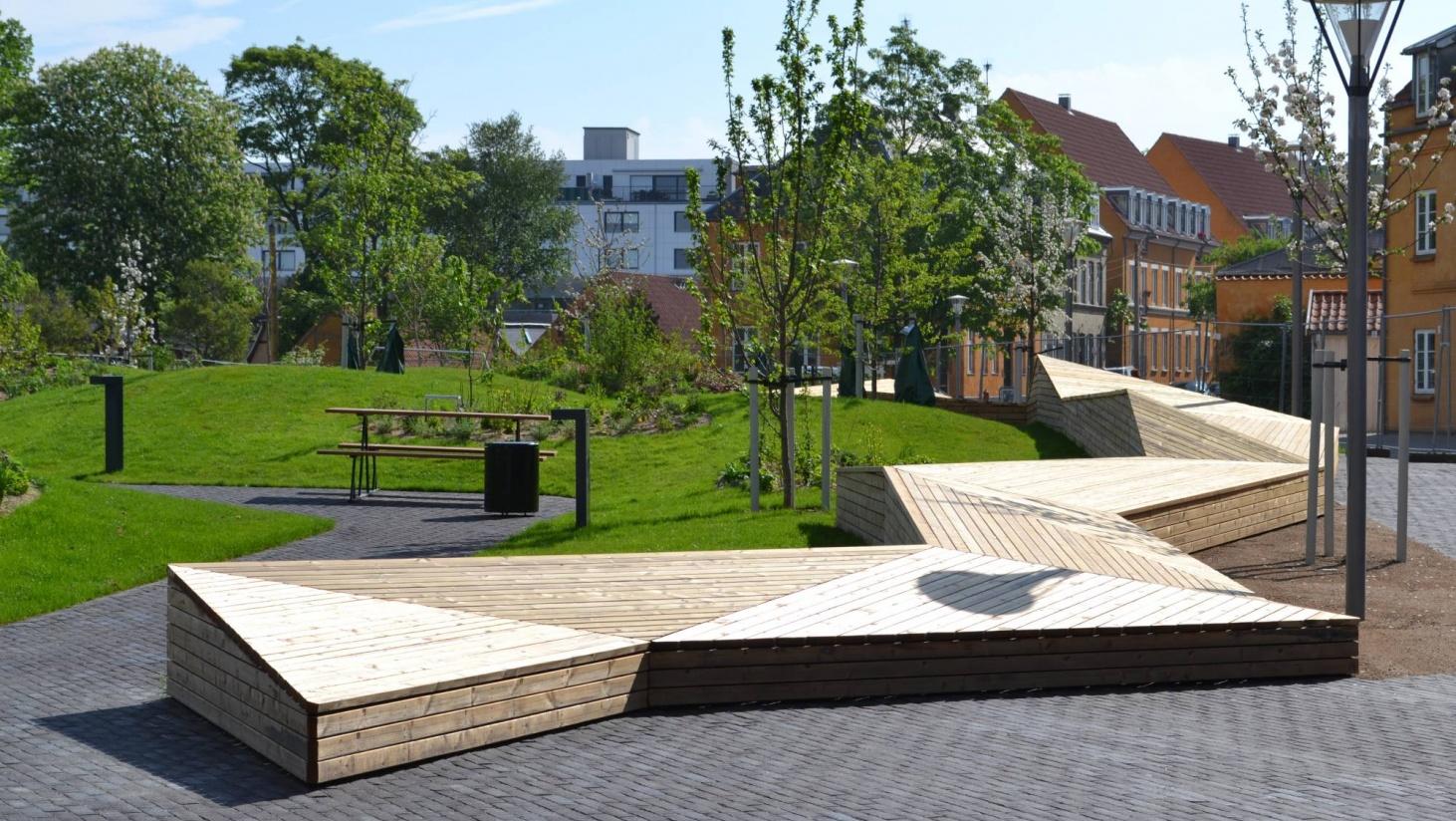 Platting bygget i offentlig rom