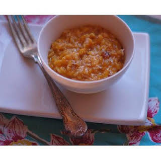 Nutmeg and Rosemary Butternut Squash Risotto.