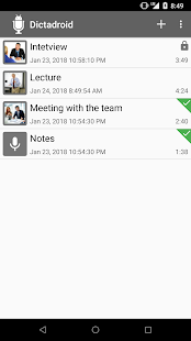Dictadroid Voice Recorder- screenshot thumbnail