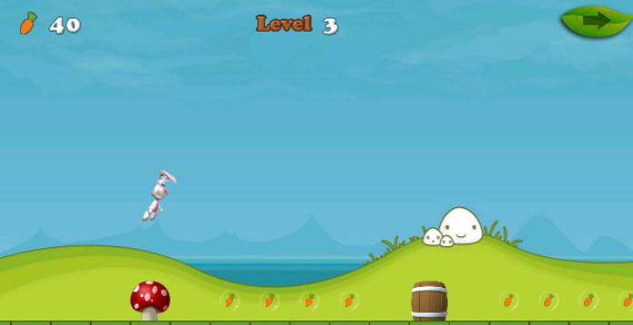 Bunny Run 2- screenshot