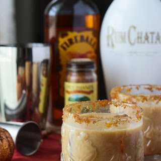 Pumpkin Horchata Cocktail #PumpkinWeek