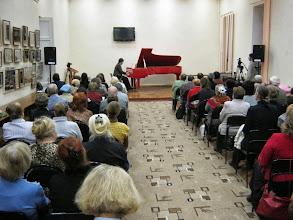 Photo: Novgorod Regionale Vitskapsbiblioteket, konsert den 26. november 2012