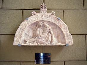 Photo: Ismeretlen 16. századi lombard mester Pieta reliefje