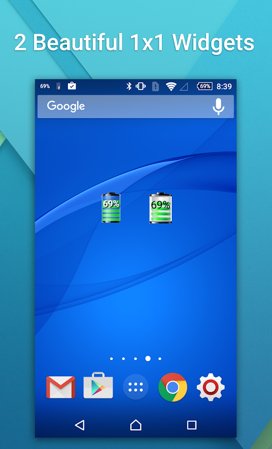 Battery Widget Booster- screenshot