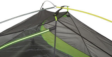 NEMO Equipment, Inc. Hornet 1P Shelter, Green/Gray, 1-person alternate image 1