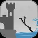 Stickman Flip Diving icon