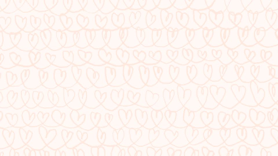 Loop-De-Loop Hearts - Zoom Background Template