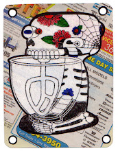 Photo: Mail art 366, Day 57 card 57a
