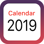 Bank holidays calendar 2019-2020