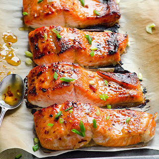 Salmon Rice Vegetables Recipes.