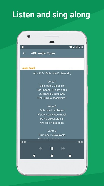 ABU (Igbo Christian Hymn) – (Android Apps) — AppAgg