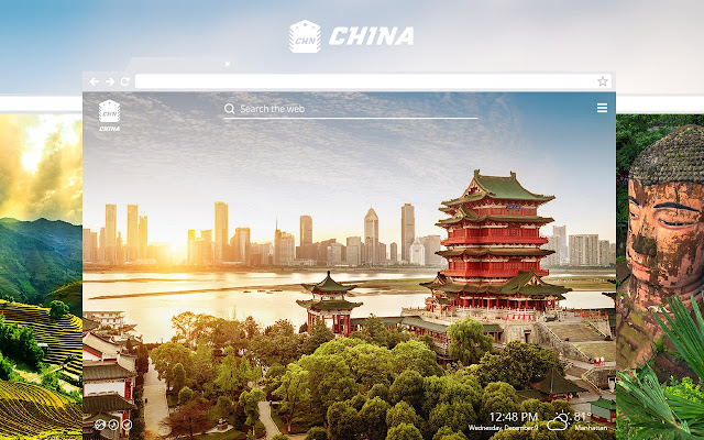 China HD Wallpaper New Tab Theme