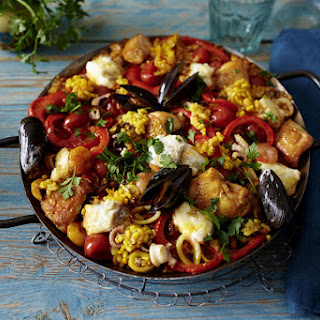 Spanish Vegetable Paella Recipes