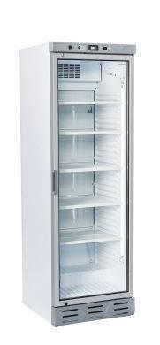 Vitrine koelkast T401/LUX TOPCOLD VITRINE 375 LT VERTICALE VERLICHTING