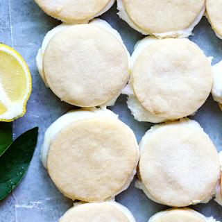 Lemon-Coconut Ice Cream Sandwiches