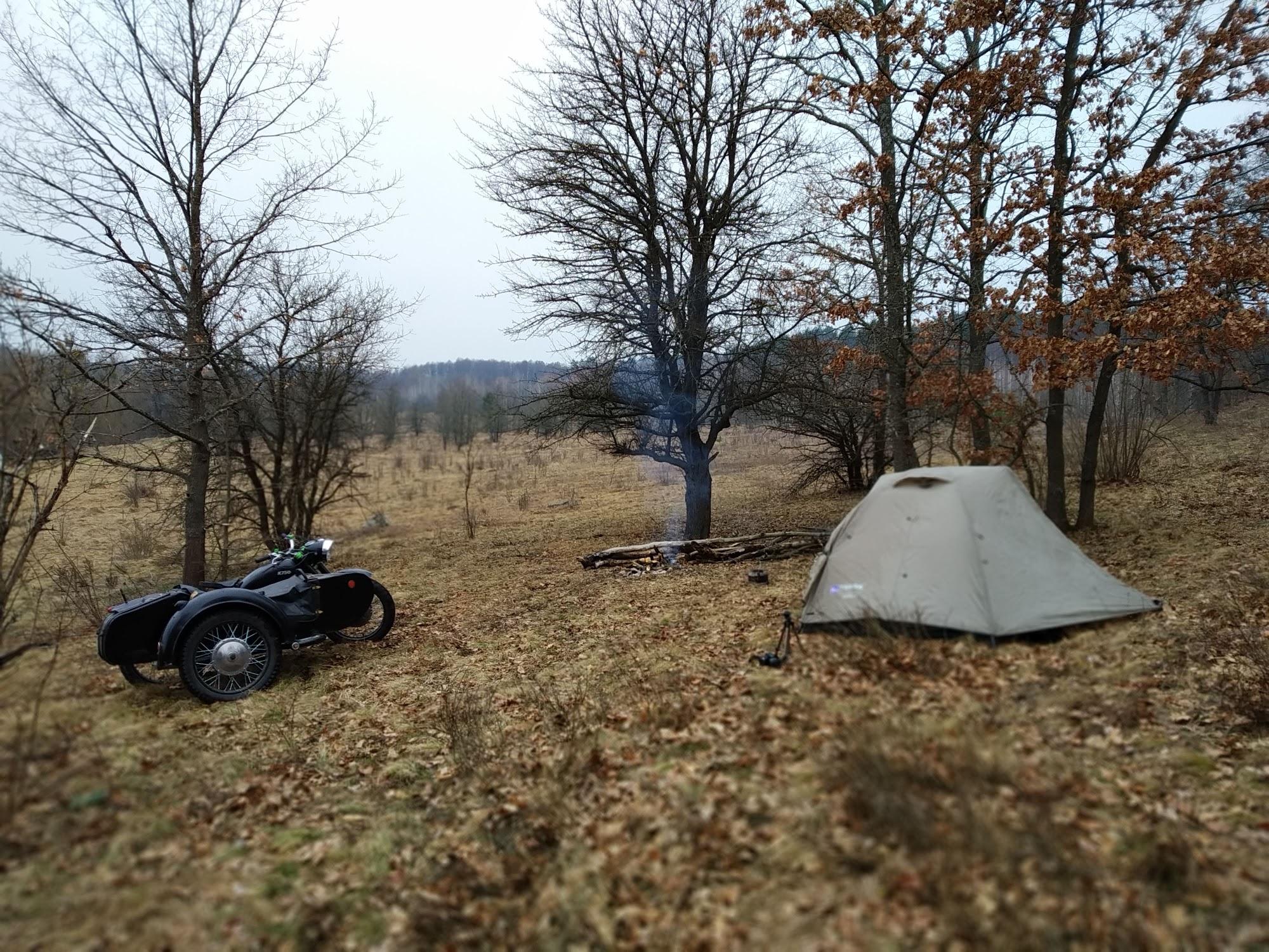 Мій табір засвітла