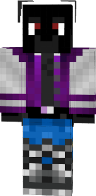 Purple Jacket and Blue Legging on my base skin