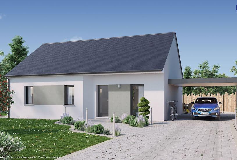 Vente Terrain + Maison - Terrain : 688m² - Maison : 82m² à Saint-Gervais-la-Forêt (41350)