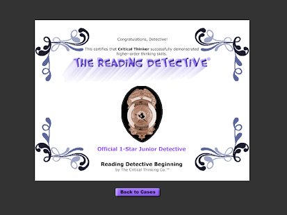 Reading Detective® Beginning- screenshot thumbnail