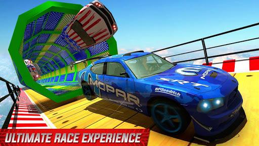 Impossible Mega Ramp Sports Car Stunt Drive 1.2 screenshots 3