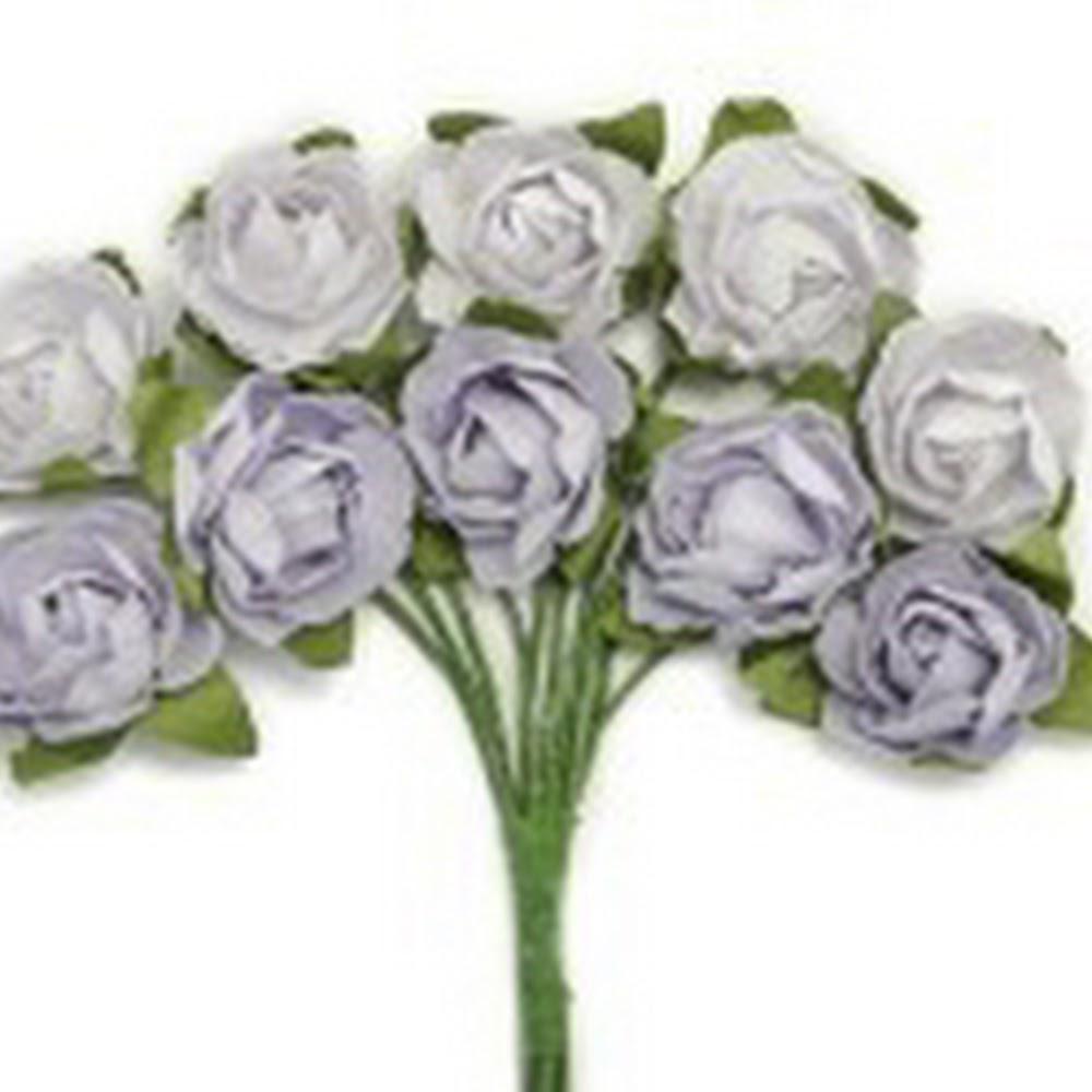 KC-Mini Paper Blooms(Misty)