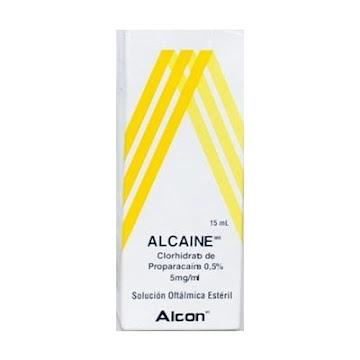 Alcaine 0.5% Solucion Oftálmica