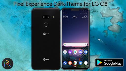 PC u7528 Pixel Experience Dark Theme For LG G8 1