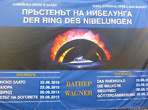 "Photo: DER RING DES NIBELUNGEN in Sofia (Juni 2013). Dr. Klaus Billand berichtet. Fotos im Alburm ""Richard Wagner, Der Ring des Nibelungen, Album 4"". Foto: Klaus Billand"