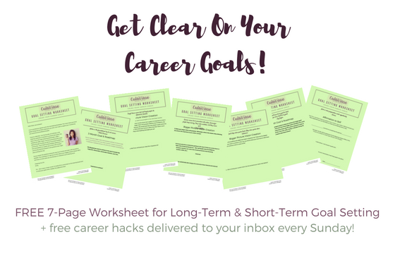 FREE 7-Page Goal Setting Worksheet