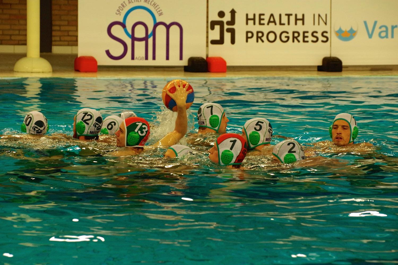 Waterpolo SL: Mechelen - Moeskroen