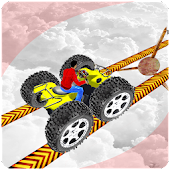 Monster Quad Bike Race: Impossible Track Games