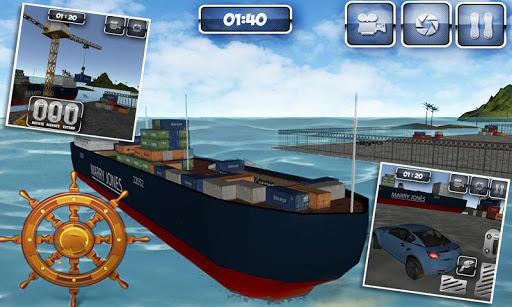 クルーズ船カートランスポーター3D