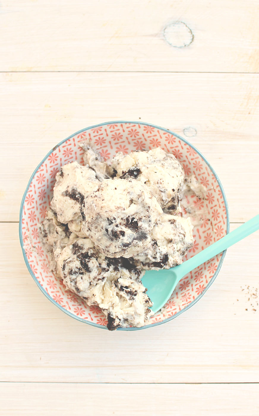 Dreams do come true with this Skinny Oreo Ice-Cream: high protein, low fat, low sugar and gluten free. This is THE BOMB!